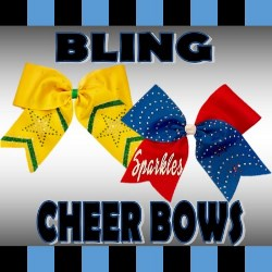 Bling Cheer Bows