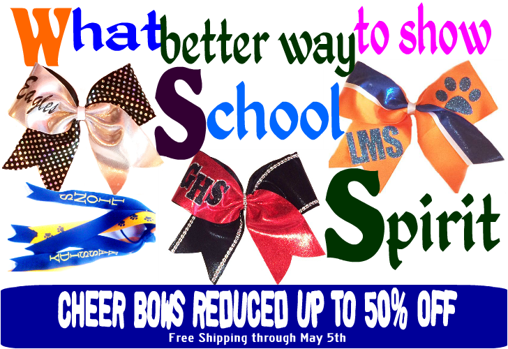 Cheer Bows at MyBowStore.com
