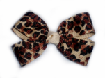 Baby Cheetah Hair Bow