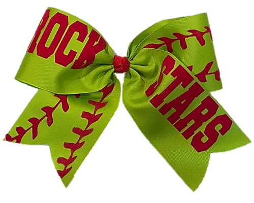 Softball Hair Bows e092c4a5449