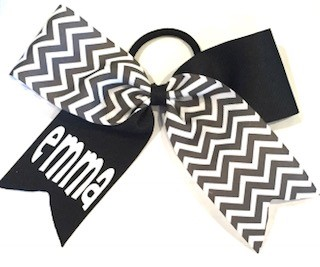 Black and Grey Chevron Mix