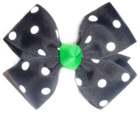 Large Polka Dot Bow