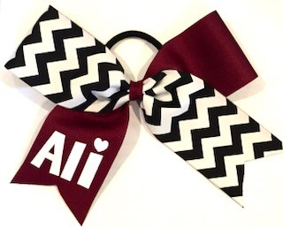 Maroon Chevron Mix