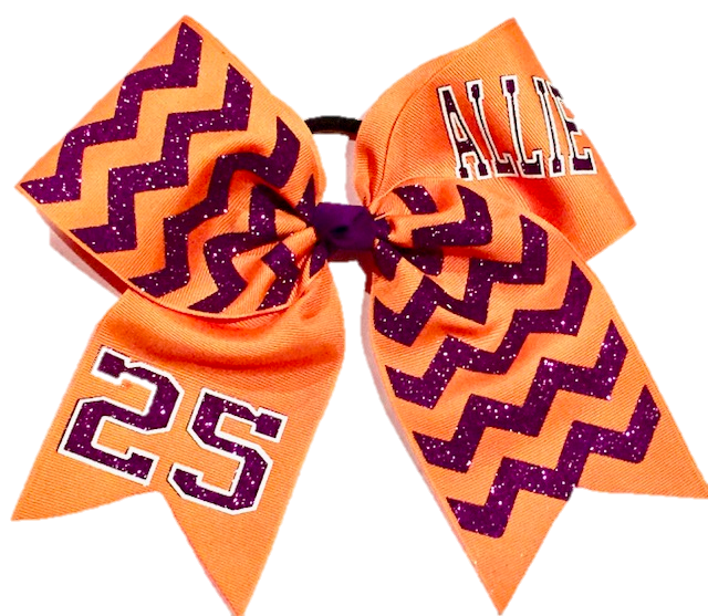 Orange Custom Chevron