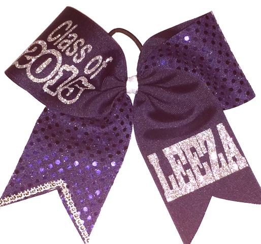 Personalized Senior Class Bow