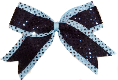 Double Sequin Bow II