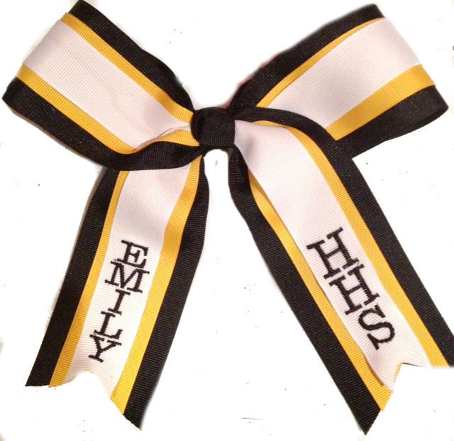 Three Layer Personalized Cheer Bow