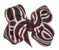 Zhane' Twisted Hair Bow