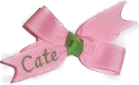 Baby Personalized Bow