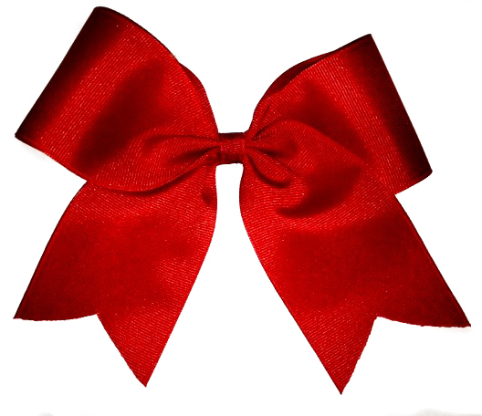 Basic Red Cheer Bow