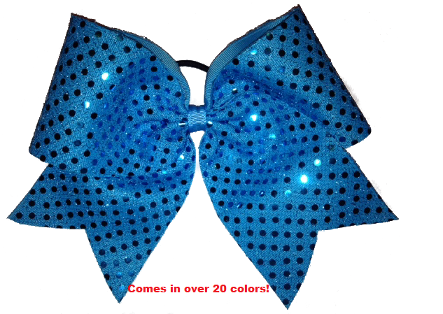 Basic Sequin Cheer Bow