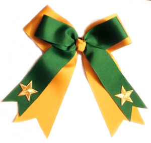 Double Star Cheer Bow