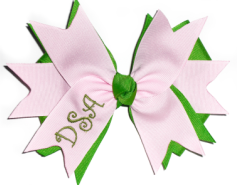 Spike Monogram Bow