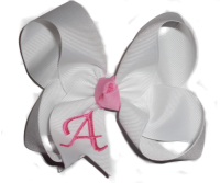 Twisted Personalized Hair Bow
