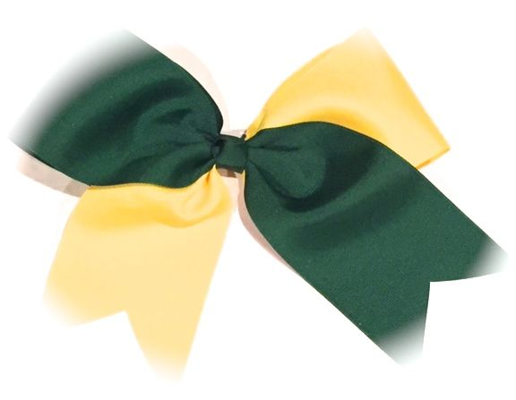Two Tone Cheer Bow