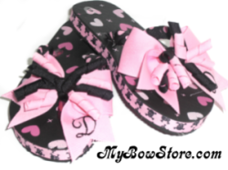 Customizable Monogram Flip Flop