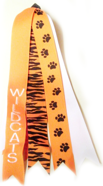 Paw Print Personalized Pony Streamer
