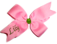 Kaneah Personalized Hair Bow