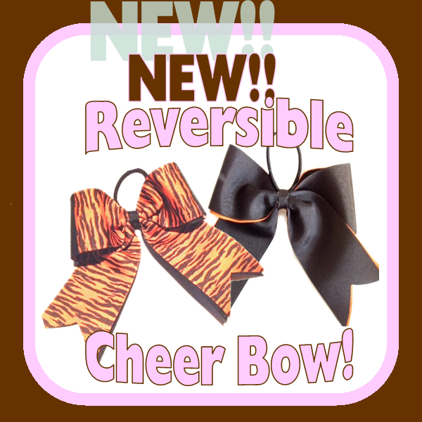 Reversible Cheer Bow