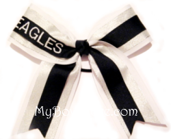 Top Monogram Cheerleading Bow