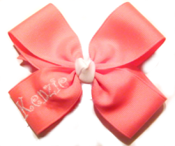 Monogrammed Boutique Hairbow
