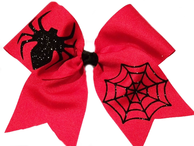 Spider Cheer Bow