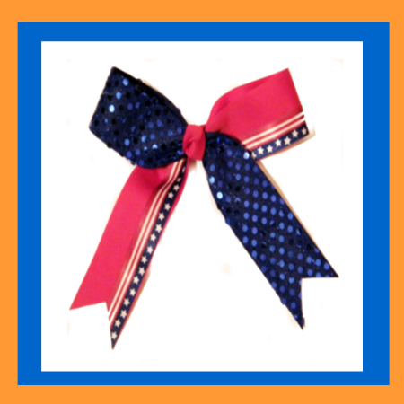 Unique Cheer Bows